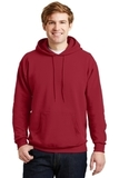 Comfortblend Pullover Hooded Sweatshirt Deep Red Thumbnail