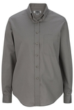 Women's Poplin Shirt LS Titanium Thumbnail