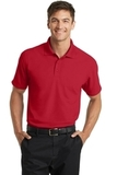 Dry Zone Grid Polo Engine Red Thumbnail