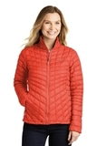 Women's The North Face ThermoBall Trekker Jacket Fire Brick Red Thumbnail