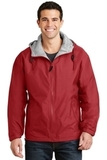 Team Jacket Red with Light Oxford Thumbnail