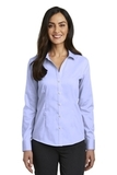 Women's Red House Pinpoint Oxford Non-Iron Shirt Blue Thumbnail