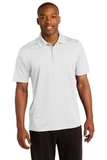 Micropique Sport-wick Pocket Polo White Thumbnail