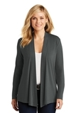 Women's Concept Knit Cardigan Grey Smoke Thumbnail