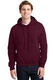 Heavyblend Hooded Sweatshirt Maroon Thumbnail