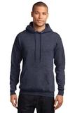 7.8-oz Pullover Hooded Sweatshirt Heather Navy Thumbnail