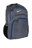 Nike Golf Performance Backpack Dark Grey with Military Blue Thumbnail