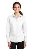 Women's SuperPro Twill Shirt White Thumbnail
