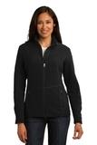 Women's Port Authority R-tek Pro Fleece Full-zip Jacket Black with Black Thumbnail