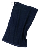 Grommeted Golf Towel Navy Thumbnail