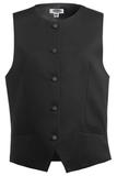 Women's Bistro Vest Black Thumbnail