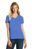 Women's Made Perfect Blend V-Neck Tee Heathered Royal Thumbnail