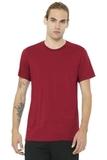 BELLACANVAS Unisex Jersey Short Sleeve Tee Canvas Red Thumbnail