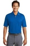 Nike Golf Dri-FIT Pebble Texture Polo Shirt Photo Blue Thumbnail