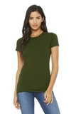 BELLACANVAS Women's The Favorite Tee Olive Thumbnail