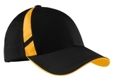 Dry Zone Mesh Inset Cap Black with Gold Thumbnail
