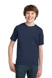 Youth Essential T-shirt Navy Thumbnail
