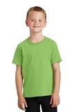Youth 5.5-oz 100 Cotton T-shirt Lime Thumbnail
