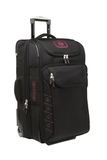 OGIO Canberra 26 Travel Bag Black with Signal Red Thumbnail