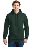 Ultimate Cotton Pullover Hooded Sweatshirt Deep Forest Thumbnail
