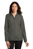 Women's Zephyr Full Zip Jacket Grey Steel Thumbnail