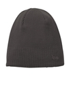 New Era Knit Beanie Slate Grey Thumbnail