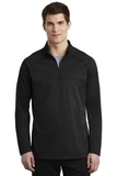 Nike Golf Therma-FIT 1/2-Zip Fleece Black with Black Thumbnail