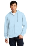 V.I.T.Fleece Full-Zip Hoodie Ice Blue Thumbnail