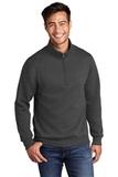 Core Fleece 1/4-Zip Pullover Sweatshirt Dark Heather Grey Thumbnail