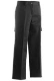Women's Flat Front Cargo Pant Black Thumbnail