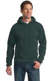 Pullover Hooded Sweatshirt Dark Green Thumbnail