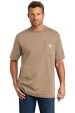 Carhartt Tall Workwear Pocket Short Sleeve T-Shirt Desert Thumbnail