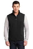 Core Soft Shell Vest Black Thumbnail