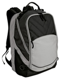 Xcape Computer Backpack Black with Grey Thumbnail