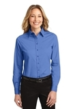 Women's Long Sleeve Easy Care Shirt Ultramarine Blue Thumbnail