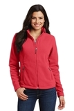 Women's Value Fleece Jacket Hibiscus Thumbnail