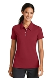 Women's Nike Golf Shirt Nike Sphere Dry Diamond Varsity Red Thumbnail