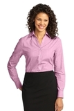 Women's Crosshatch Easy Care Shirt Pink Orchid Thumbnail
