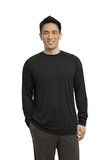 Long Sleeve Ultimate Performance Crew Black Thumbnail