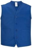 Two Pocket Apron Vest Royal Thumbnail