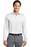 Nike Golf Shirt Long Sleeve Dri-FIT Stretch Tech Polo White Thumbnail