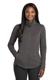 Women's Collective Smooth Fleece Jacket Graphite Thumbnail