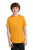 Youth Essential Performance Tee Gold Thumbnail