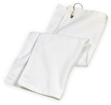 Grommeted Golf Towel White Thumbnail