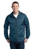 Eddie Bauer Packable Wind Jacket Adriatic Blue Thumbnail