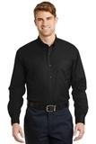 Long Sleeve Superpro Twill Shirt Black Thumbnail