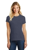 Women's Made Perfect Blend Crew Tee Heathered Navy Thumbnail