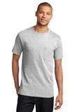 100 Cotton T-shirt With Pocket Ash Thumbnail