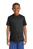 Youth Competitor Tee Black Thumbnail