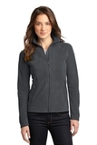 Women's Eddie Bauer Full-zip Microfleece Jacket Grey Steel Thumbnail